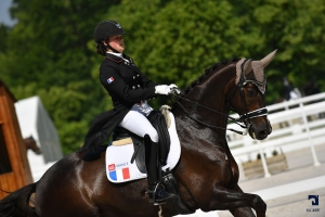 CDI Young Riders - FEI COMPIEGNE 2018 - Little Rock et Eugenie Burban